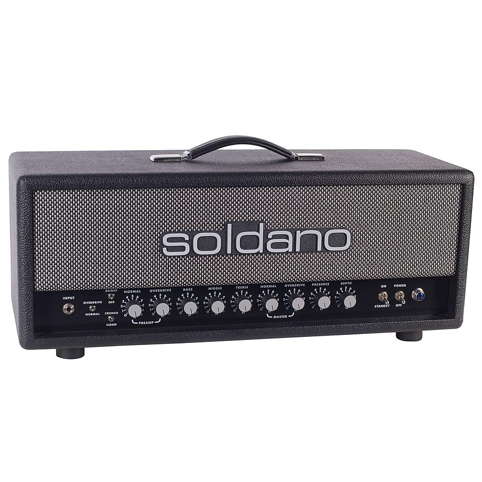 Verstaerker - Soldano SLO 100 Custom BSP Topteil E Gitarre - Onlineshop Musik Produktiv