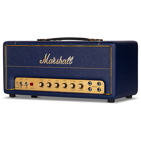 Tête ampli guitare Marshall Studio Vintage SC20HD7 Navy Levant Spl. Edition