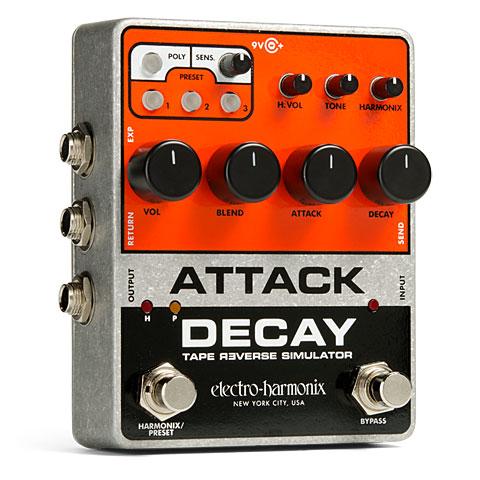 Pedal guitarra eléctrica Electro Harmonix Attack Decay