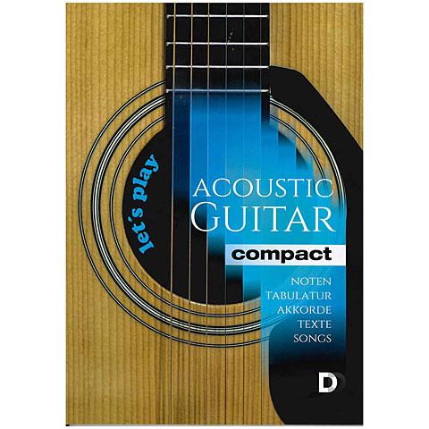 Cancionero DD Verlag Let`s play Acoustic Guitar compact