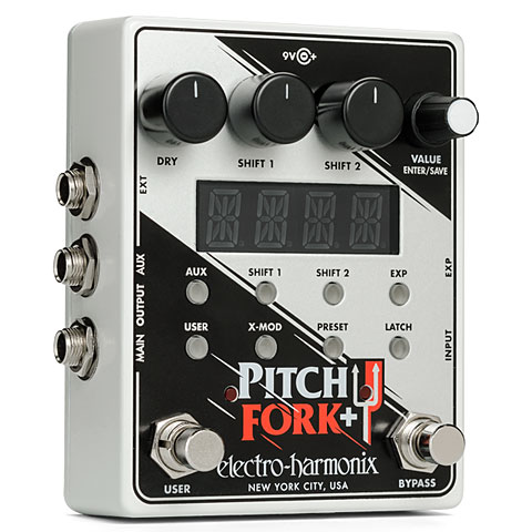 Guitar Effect Electro Harmonix Pitch Fork + Dual Polyphonic Pitch Shifter