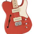 Guitarra eléctrica Squier Paranormal Cabronia Telecaster Thinline FRD