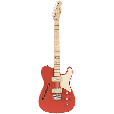 Squier Paranormal Cabronia Telecaster Thinline FRD « Guitare électrique
