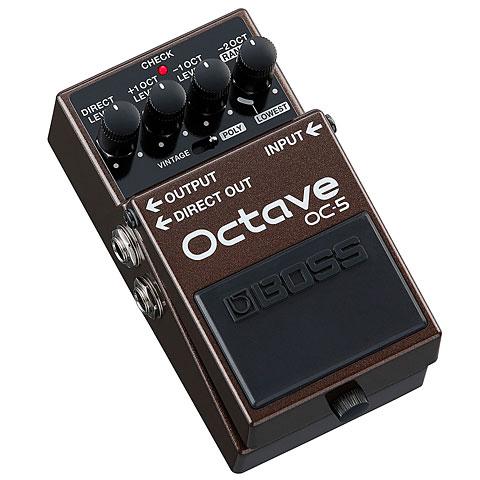 Effets pour guitare électrique Boss OC-5