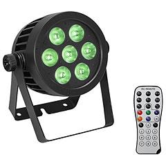 Eurolite IP PAR 7x8W QCL Spot + 2x Diffuser cover « Lámpara LED