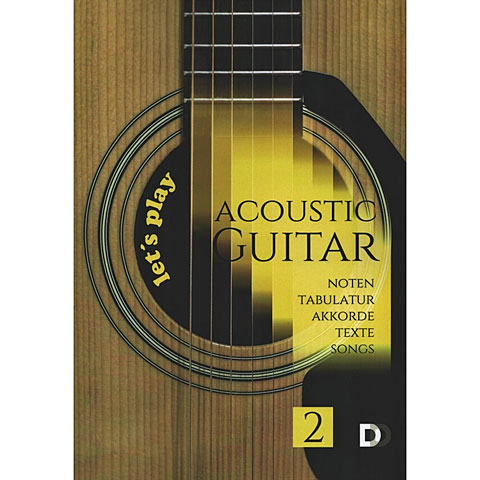 Songbook DD Verlag Let's play Acoustic Guitar 2