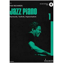 Schott Jazz Piano Bd.1 (Online-Audiodatei) « Lehrbuch