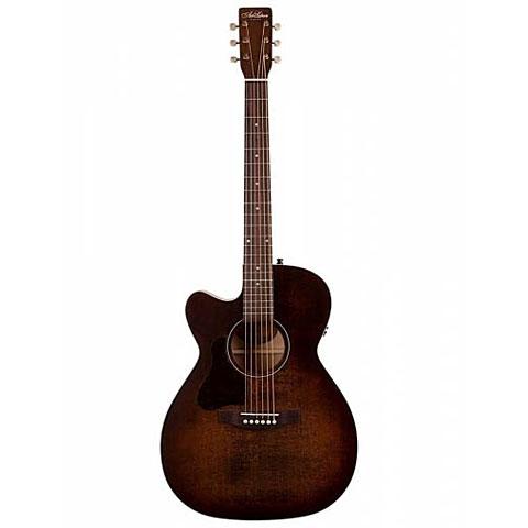 Guitarra acústica para zurdos Art & Lutherie Legacy Bourbon Burst CW QIT Left