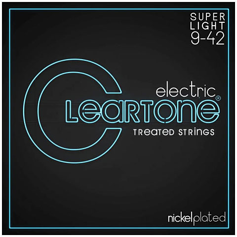 Saiten E-Gitarre Cleartone Electric Super Light 9 -42