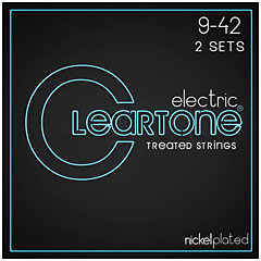 Cleartone Electric Super Light 9-42 2-Pack « Cuerdas guitarra eléctr.