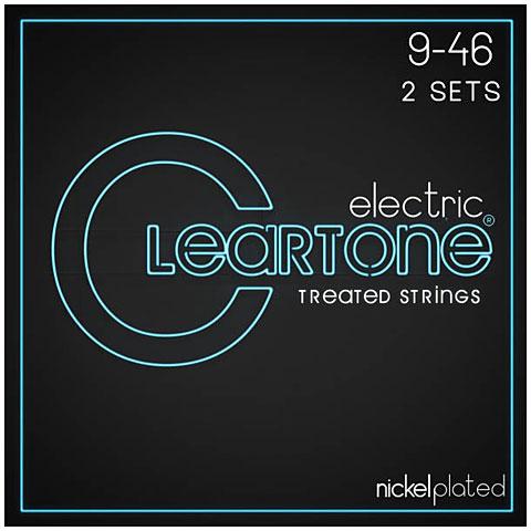 Cuerdas guitarra eléctr. Cleartone Electric Hybrid 9-46 2-Pack