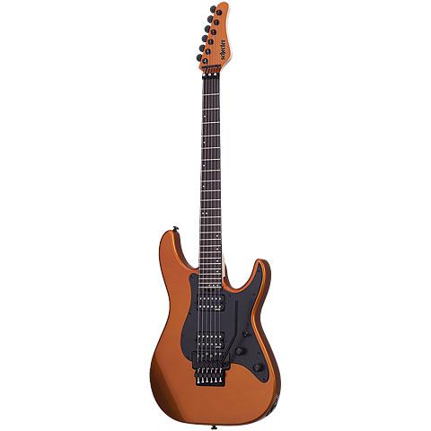 Schecter Sun Valley FR, Lambo Orange « E-Gitarre