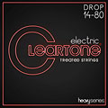 Cuerdas guitarra eléctr. Cleartone Monster Series Electric Drop A 14-80