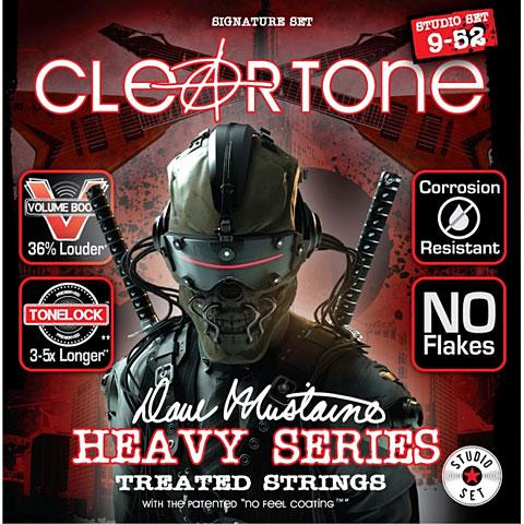 Saiten E-Gitarre Cleartone Dave Mustaine Studio 9-52
