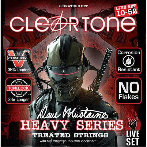 Cuerdas guitarra eléctr. Cleartone Dave Mustaine Live 10-52