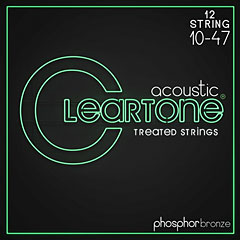 Cleartone Acoustic Phos-Bronze 12-String Light 10-47 « Western & Resonator Guitar Strings