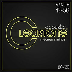 Cleartone Acoustic 80/20 Bronze Medium 13-56 « Western & Resonator Guitar Strings