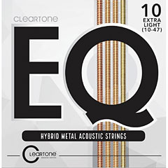 Cleartone EQ Hybrid Metal Acoustic Strings 10-47 « Western & Resonator Guitar Strings