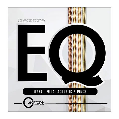Corde guitare folk Cleartone EQ Hybrid Metal Acoustic Strings 11-52
