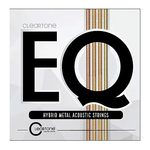 Corde guitare folk Cleartone EQ Hybrid Metal Acoustic Strings 12-53