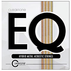 Cleartone EQ Hybrid Metal Acoustic Strings 12-53 « Western & Resonator Guitar Strings
