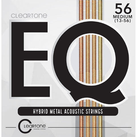 Cuerdas guitarra acúst. Cleartone EQ Hybrid Metal Acoustic Strings 13-56