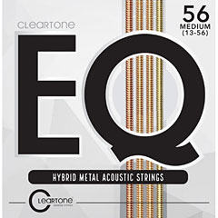 Cleartone EQ Hybrid Metal Acoustic Strings 13-56 « Western & Resonator Guitar Strings