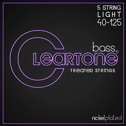 Corde basse électrique Cleartone Bass 5 String Light 40-125