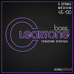 Cleartone Bass 5 String Medium 45-130 « Electric Bass Strings
