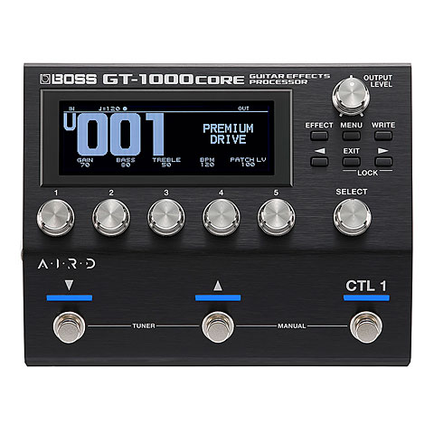 Multiefectos guitarra Boss GT-1000 Core