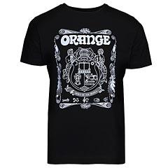 Orange T-Shirt Crest BLK XXL « Camiseta manga corta