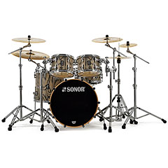 "Sonor ProLite 20"" Snow Tiger 4 Pcs. Shell Set « Schlagzeug"