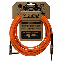 Orange Instrument Cable Angled 6m « Cable instrumentos