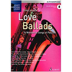 Schott Saxophone Lounge - Love Ballads Alto Sax « Recueil de Partitions