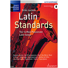 Schott Saxophone Lounge - Latin Standards Alto Sax « Libro de partituras