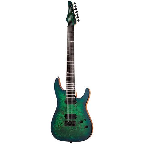 Schecter C-7 Pro AQB « E-Gitarre