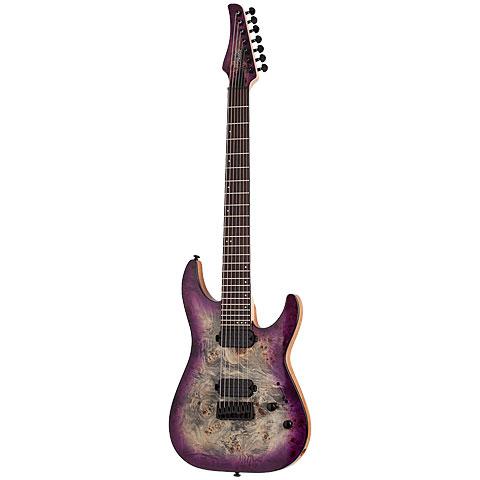 Schecter C-7 Pro AUB « E-Gitarre