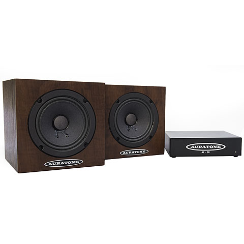Passiv-Monitor Auratone 5C plus Amp Bundle Wood