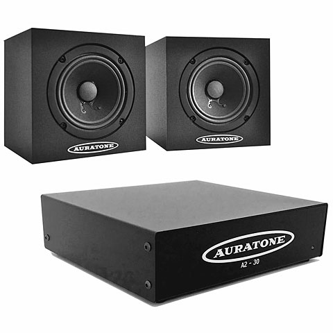 Monitor Pasivo Auratone 5C plus Amp Bundle Black
