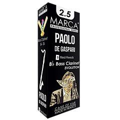 Marca Paolo de Gaspari Boehm Bass Clarinet 2.5 « Blätter