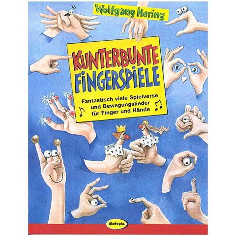 Kinderbuch Ökotopia Kunterbunte Fingerspiele