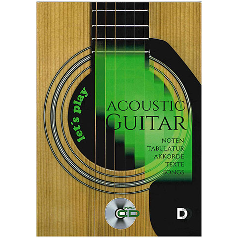 Songbook 3D-Verlag Let's play Acoustic Guitar compact (+CD)