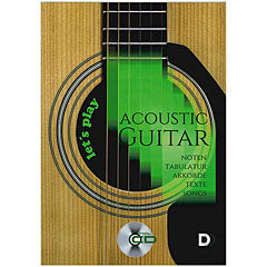3D-Verlag Let's play Acoustic Guitar compact (+CD)