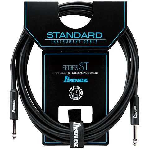 Cable instrumentos Ibanez SI10 3m  K/K