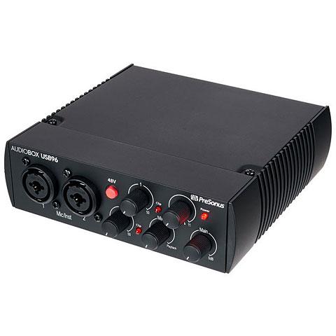Carte son, Interface audio Presonus AudioBox USB 96 25th Anniversary Edition