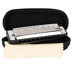 Cascha Ocean Rock Blues Harmonica G (black)