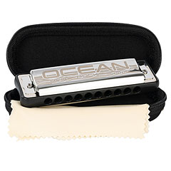 Cascha Ocean Rock Blues Harmonica A (black)