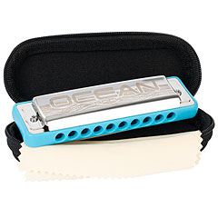 Cascha Ocean Rock Blues Harmonica G (blue)