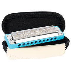 Cascha Ocean Rock Blues Harmonica E (blue) « Harmonica Richter