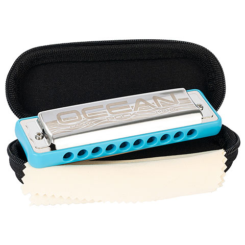 Harmonica Richter Cascha Ocean Rock Blues Harmonica D (blue)